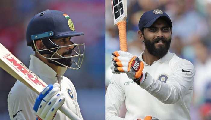 INDvsWI: विराट-जडेजा के शतक, भारत के बने 649 रन, वेस्टइंडीज ने 94 पर गंवाए 6 विकेट