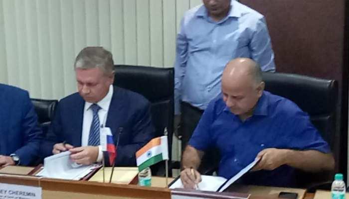 दिल्ली सरकार और मॉस्को प्रकाशन के बीच हुआ 'ट्विन सिटी' समझौता