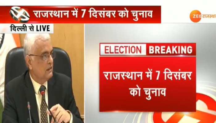 राजस्थान: चुनावों की तारीख की घोषणा के बाद प्रदेश में लागू हुई आचार संहिता