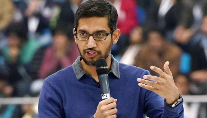 गूगल के CEO सुंदर पिचाई ने पेंटागन के अधिकारियों से की गुपचुप तरीके से मुलाकात