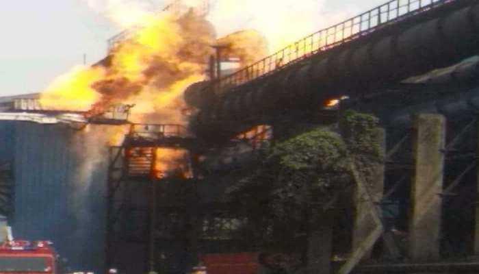 भिलाई: स्टील प्लांट की गैस पाइप लाइन में ब्लास्ट, मरने वालों की संख्या 9 हुई, कई घायल