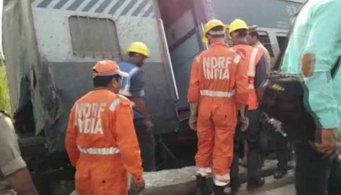 रायबरेली ट्रेन हादसा: ड्रोन कैमरों से हो रही है निगरानी, मृतकों के परिजनों को केंद्र सरकार देगी 5 लाख रुपये