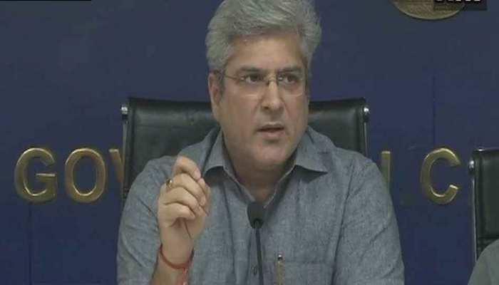 दिल्ली सरकार के परिवहन मंत्री कैलाश गहलोत के 16 ठिकानों पर आयकर विभाग की छापेमारी