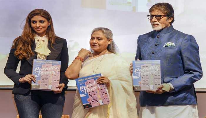 BIG-B BIRTHDAY: अमिताभ और जया ने श्वेता की पहली किताब का किया विमोचन