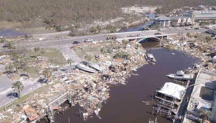 फ्लोरिडा में माइकल तूफान का कहर, अब तक 16 लोगों की मौत की पुष्टि