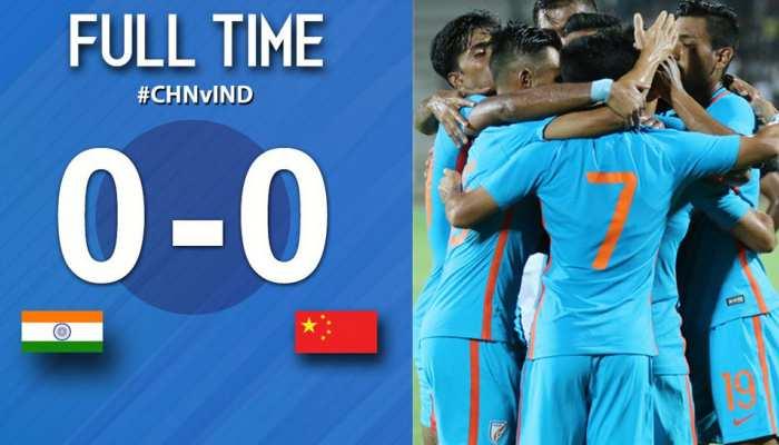 भारत ने चीन को मैत्री मैच में गोलरहित ड्रॉ पर रोका, कोच बोले हमें हराना अब आसान नहीं