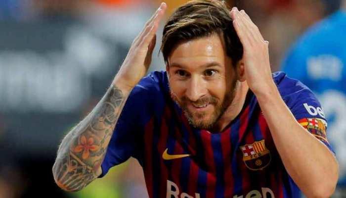 La Liga Football: बार्सिलोना के लियोनल मेसी चुने गए सितंबर के बेस्ट प्लेयर
