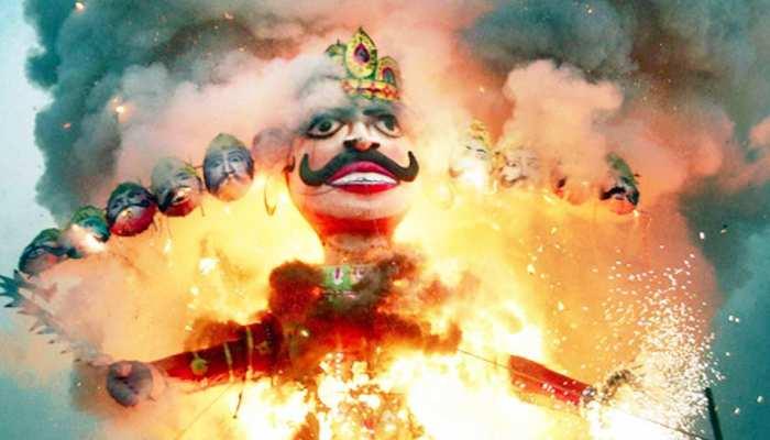 दशहरा 2018: इस शुभ मुहूर्त पर किया जाएगा रावण दहन, देशभर में विजयदशमी की धूम