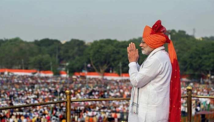 आजाद हिंद सरकार की 75वीं वर्षगांठ के मौके पर आज लाल किले पर तिरंगा फहराएंगे पीएम मोदी