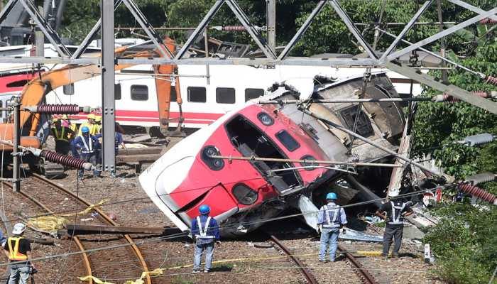 ट्रेन हादसे की जांच कर रहा ताइवान, 18 लोगों की हुई थी मौत