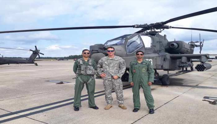 apache helicopter pilot training start Indian air force get soon the plane