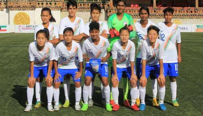 फुटबॉल: भारतीय महिला टीम ने पाकिस्तान को 18-0 से धोया