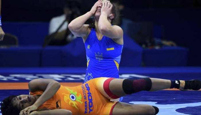 विश्व कुश्ती चैंपियनशिप: पूजा ढांडा ने ब्रॉन्ज मेडल जीता, रितु फोगाट और साक्षी मलिक हारीं