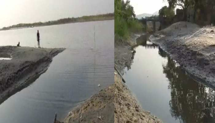 झारखंड के साहिबगंज में गंगा नदी का अस्तित्व खतरे में, स्थिति चिंताजनक