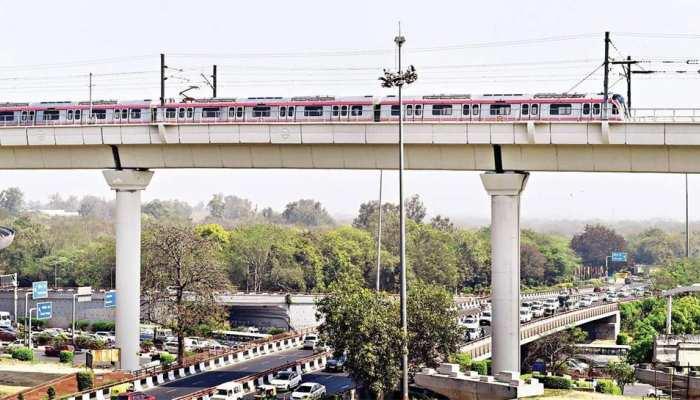 दिल्ली मेट्रो: पिंकलाइन का शिवविहार-त्रिलोकपुरी सेक्शन 31 अक्टूबर को खोला जाएगा