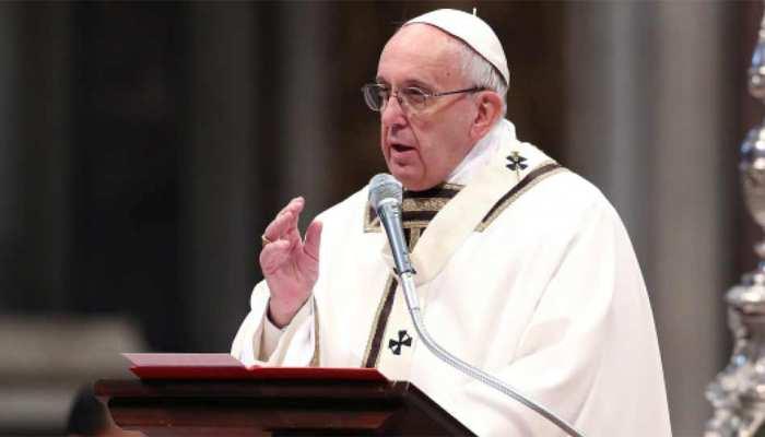 अमेरिका में यहूदी प्रार्थना सभा पर हमला, अमानवीय कृत्य : पोप फ्रांसिस