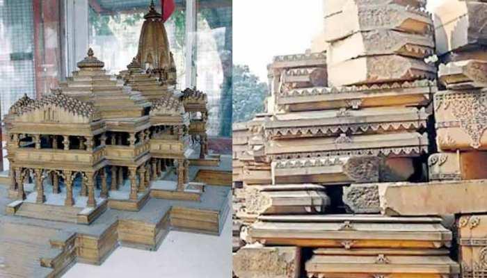 अयोध्या में राम मंदिर बनाने के लिए तराशे गए 65% पत्थर, निर्मोही अखाड़े ने जताया ऐतराज