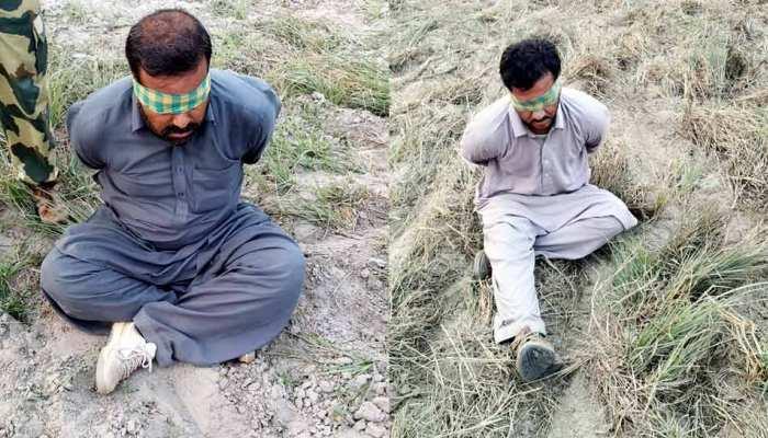BSF के हत्थे चढ़े दो पाकिस्तानी घुसपैठिए, पूछताछ में खंगाले जा रहे इनके खतरनाक मंसूबे