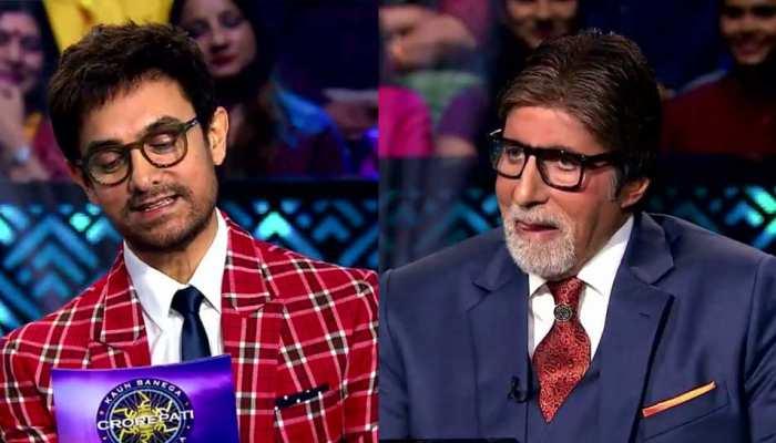 Video: आमिर खान ने बिग बी से पूछा, 'लेट आने के चक्कर में क्या बंद हुई घर में एंट्री?'