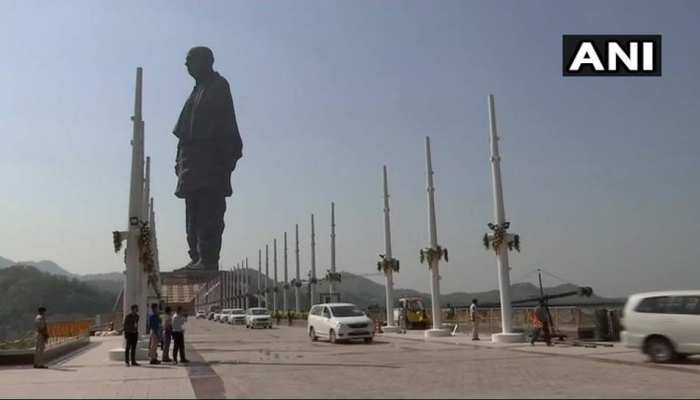 सरदार पटेल जयंती के मौके पर पीएम मोदी आज 'स्टैच्यू ऑफ यूनिटी' राष्ट्र को करेंगे समर्पित