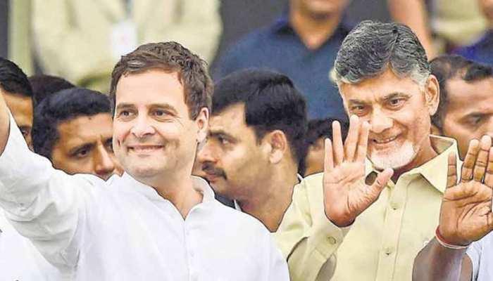 महागठबंधन की उम्मीद जगा रहे हैं चंद्रबाबू नायडू, राहुल गांधी से आज कर सकते हैं मुलाकात