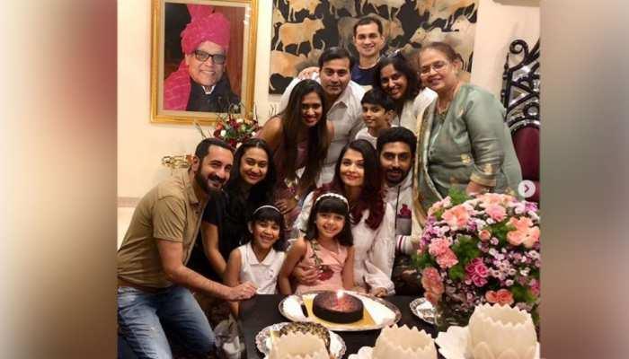 ऐश्वर्या रॉय बच्चन परिवार के साथ मना रहीं बर्थडे, तस्वीरों में नजर आया लेटनाइट सेलीब्रेशन