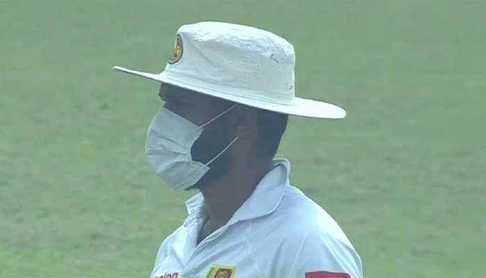 दिल्ली प्रदूषण: पिछले साल श्रीलंका टीम, अब रणजी खिलाड़ी मास्क पहन कर मैदान में उतरे
