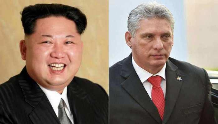 क्यूबा के राष्ट्रपति ने प्योंगयांग में किम जोंग की मुलाकात, अंतरराष्ट्रीय हालातों पर हुई चर्चा