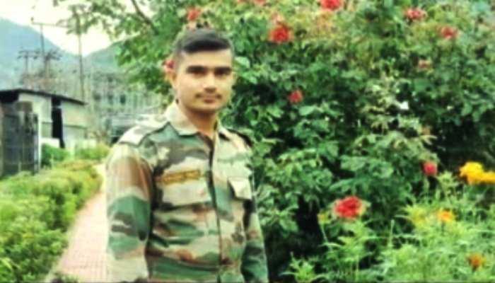 श्रीनगर में तैनात बक्सर का 'लाल' शहीद, गांव में मचा कोहराम