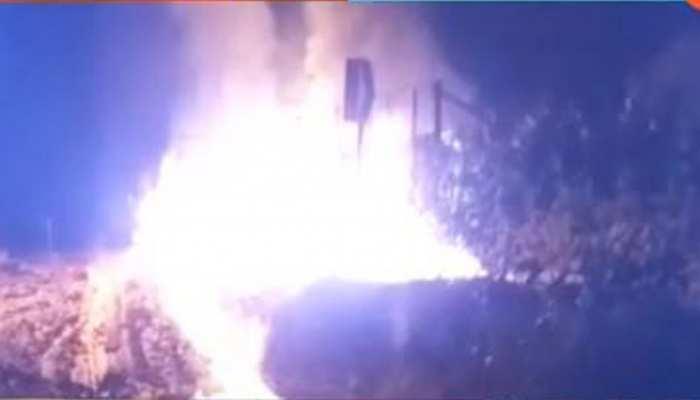 जोधपुर: पाली की गादिया मार्केट में लगी भीषण आग, करोड़ों का हुआ नुकसान