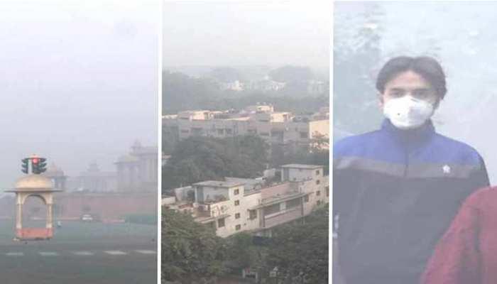 दिवाली के बाद भी नहीं सुधरे हालात, दिल्ली-NCR में प्रदूषण हुआ खतरनाक