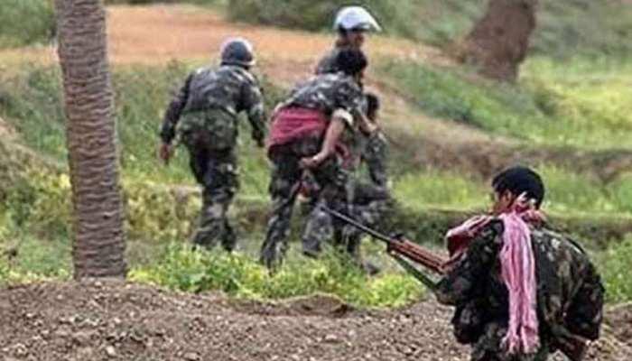 छत्तीसगढ़ : चुनाव से 24 घंटे पहले नक्सली हमला, 1 जवान शहीद