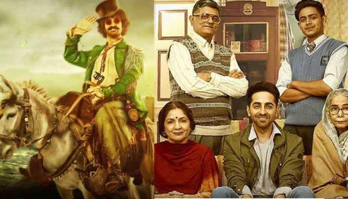 'ठग्स ऑफ हिंदोस्तान' से कहा टाटा, दर्शक कह रहे हैं सवा सौ करोड़ की 'बधाई हो'
