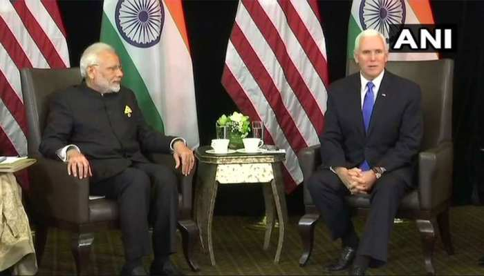 PM मोदी ने US उपराष्ट्रपति को भारत आने का दिया न्योता, माइक पेंस बोले- शुक्रिया