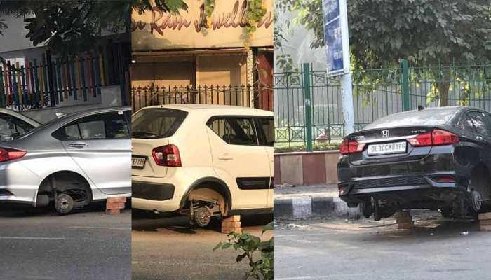 दिल्ली में चोरी का अनोखा गैंग, ये खड़ी गाड़ियों के चुरा लेता है टायर