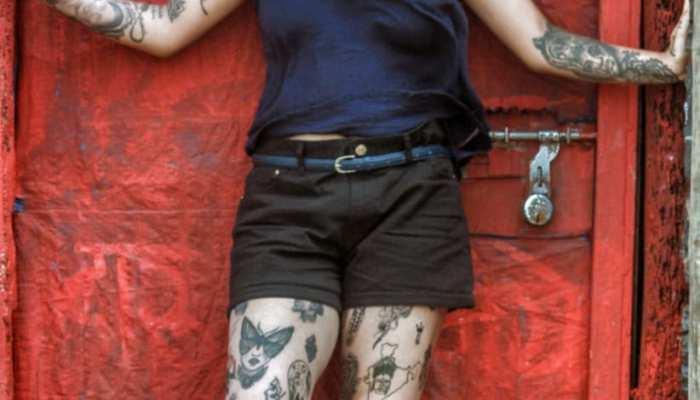 21 year old mumbai residence tejaswi prabhulkar become tattoo girl has 103 tattoos on her body