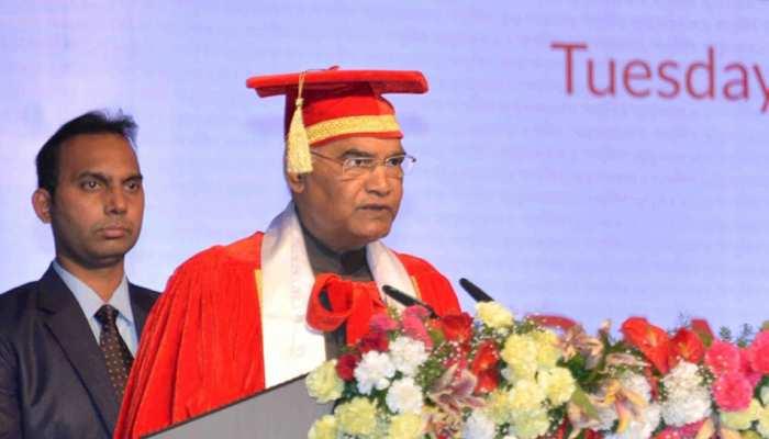 राष्ट्रपति रामनाथ कोविंद का बिहार दौरा, दीक्षांत समारोह में होंगे शामिल