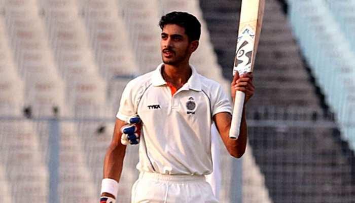 फॉलोऑन खेल रहे मध्य प्रदेश को कुमार मंगलम के बेटे आर्यमान बिड़ला ने हार से बचाया