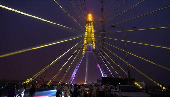 सिग्नेचर ब्रिज पर सुरक्षित 'सेल्फी प्वाइंट' विकसित करेगी दिल्ली सरकार