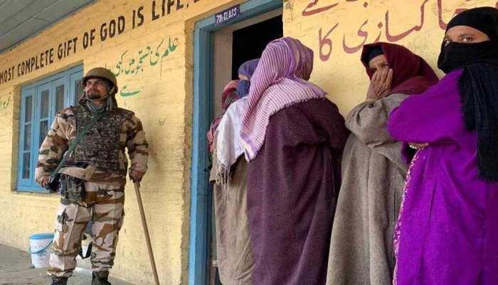 जम्मू-कश्मीर पंचायत चुनाव: कश्मीर में 64.5 और जम्मू क्षेत्र में 79.5 प्रतिशत मतदान