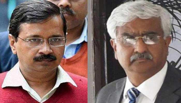 दिल्ली: सीएम केजरीवाल पर मारपीट का आरोप लगाने वाले दिल्ली के मुख्य सचिव अंशु प्रकाश का तबादला