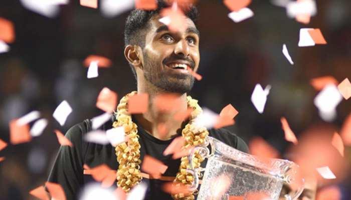 रैंकिंग: बेंगलुरू ओपन जीतने वाले प्रजनेश गुणेश्वरन बने देश के नंबर एक टेनिस खिलाड़ी