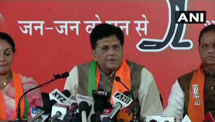 सीताराम केसरी को बाथरूम में लॉक करके कांग्रेस के अध्यक्ष पद से हटाया गया: पीयूष गोयल