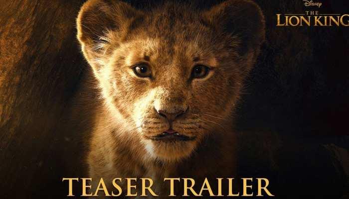 Teaser : 'जंगल बुक' के बाद चला 'द लॉयन किंग' का जादू, यू-ट्यूब पर हुआ हिट