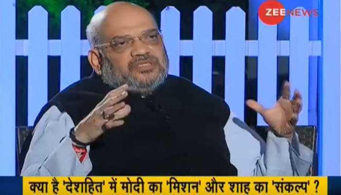 EXCLUSIVE: राजस्थान में हम सरकार बनाने जा रहे हैं, ये बात मैं भरोसे से कह सकता हूं : अमित शाह