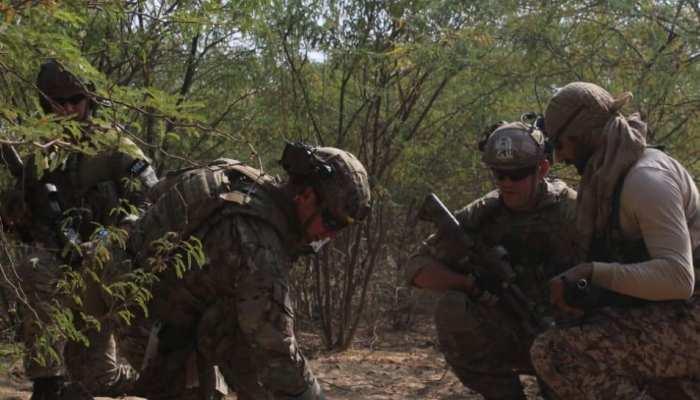 राजस्थान: थार के मरुस्थल में चल रहा है युद्धाभ्यास, भारत-अमेरिका की सेना दिखा रही है दम