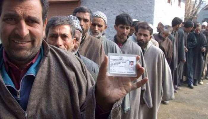 पंचायत चुनाव : तीसरे चरण में कश्मीर क्षेत्र में 34 प्रतिशत, जम्मू में 59 प्रतिशत मतदान