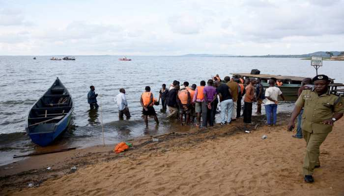 युगांडा: विक्टोरिया झील में नाव पलटने से 22 लोगों की मौत, मृतकों की संख्या बढ़ने की आशंका
