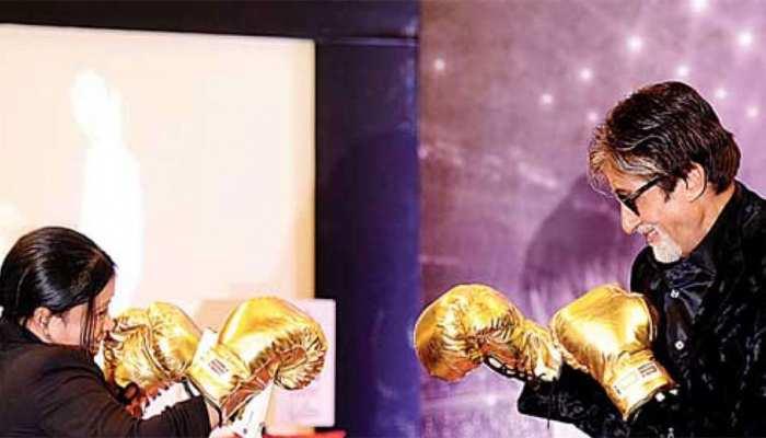 अमिताभ बच्चन ने मैरी कॉम को दी बधाई, कहा- आपके दिए हुए ग्ल्व्स मेरे गोल्ड मेडल हैं
