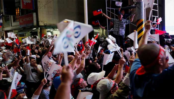ताइवान: 'अलगाववादी रवैये' की वजह से राष्ट्रपति की पार्टी को चुनावों में मिली हार